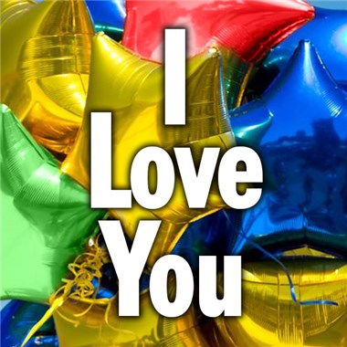 I Love You Mylar Balloon from Ingallina's Gifts